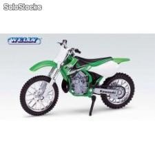 Welly-motor 1:18 kawasaki kx 650