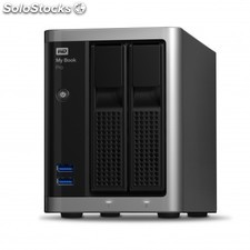 Western Digital - My Book Pro 8000GB Gris, Negro disco duro externo