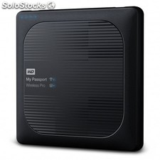 Western Digital - My Passport Wireless Pro Wifi 4000GB Negro disco duro externo