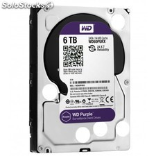 Western Digital - Purple 6000GB Serial ATA III disco duro interno - 22088484