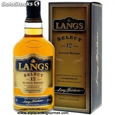 whisky 12 años langs escoces 70 cl.