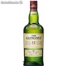 Whisky escoces the glenlivet 12 años 70CL.