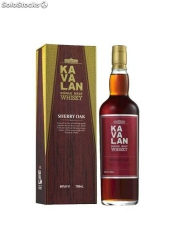 Whisky Kavalan Sherry Oak 70 cl