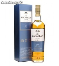 Whisky Macallan 12 multo Carvalho 50 cl