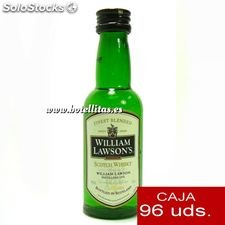 Whisky William Lawson 5cl caja de 96 uds