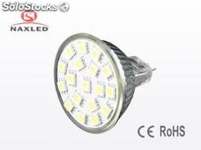 Wholesale 2.2Watt led spot light, 12v, 5050 smd led, mr16(gu5.3) 2pins