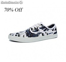 Wholesale Liquidation Canvas Shoes Superdry Brand Fashion Sneakers MOQ 3000 pair