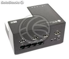 Wifi Router and 4-port usb server ieee 802.11 b/g/n (US69)