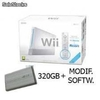 WII BLANCA SPORTS RESORT + SOFTMOD + HDD 320GB + CAJA EXT. 2.5