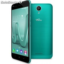 Wiko - Harry SIM doble 4G 16GB Negro, Turquesa