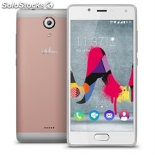 "Wiko u feel lite 5"" hd ips Q1.3GHz 16GB 4G Oro Ros"