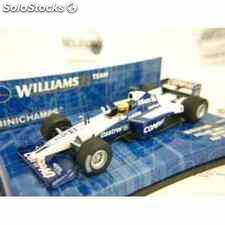 Williams bmw fw22 showcar 2001 ralf schumacher formula 1 escala 1/43