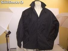 Windbreaker jacket for men color black and white