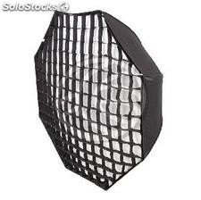 Window universal octagonal softbox light diffusing 140cm with honeycomb (JO24)