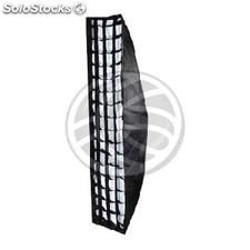 Window universal square softbox diffuser light 30x140cm with honeycomb (JO23)