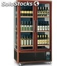 Wine display cooler - mod. enoteca791tv1p - temperature °c +5/+18 - dimensions