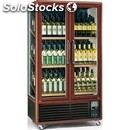 Wine display cooler - mod. enoteca791tv3 - temperature °c +5/+9/+18 - dimensions