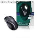 Wired mouse desktop 5-button black
