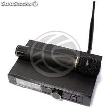 Wireless Microphones with one-channel receiver UHF 600-920 MHz rack for group G1