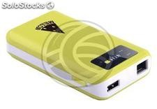 Wireless Router 150 Mbps repeater 7800mAh battery bank and multimedia storage