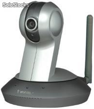 WLAN IP-kamera mit 1/4 CMOS-Sensor, 350 TVL, 4.0mm Objektiv & 3G Mobile Phone Access - Art.Nr.: HTS-236
