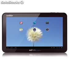 Wolder mitab lion - tableta - android 4.1 (jelly bean) - 8 gb - 10.1""