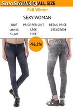Woman Jeans small sizes, Fall/Wint.,'Sexy woman'