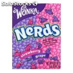 Wonka for the love of nerds grape & strawberry 46.7G