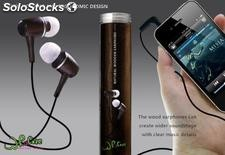 Wood bass iPhone htc earphone and headphone php 011 WhoCare