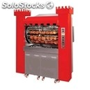 Wood-fired rotisserie planetary series - mod. torre a legna 126/p - capacity: