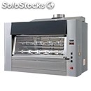 Wood-fired rotisserie planetary series - mod. wood a legna 84/p - capacity: n.84