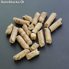 Wood Pellets With High Calorific Value