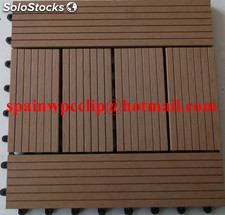 wood plastic composite piso