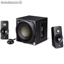 Woxter - Big Bass 260 S 2.1channels 150W Negro conjunto de altavoces
