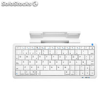 Woxter Mini Keyboard K 60 White Bluetooth