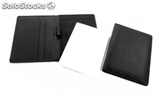 Writing Case A 6 Black Cowhide Nappa Leather