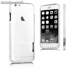 X-One Bumper Bicolor iPhone 6 Plus Blanco - Blanco