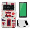 X-One Funda Libro BQ M4.5 London Citrico