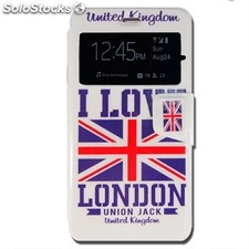 x-One Funda Libro bq X5 London
