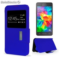 X-One Funda Libro Samsung Grand Prime Azul