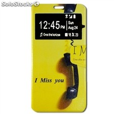 X-One Funda Libro Samsung Note 7 Miss You