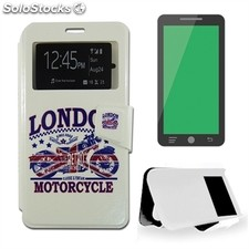 X-One Funda Libro Samsung S6 Edge Plus Motorcycle