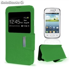 X-One Funda Libro Samsung Young Verde