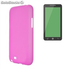 x-One Funda tpu Wiko u Feel Rosa