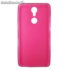 x-One Funda tpu zte axon 7 mini Rosa
