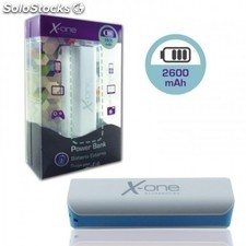 X-One PowerBank 2600mAh Azul