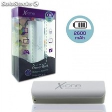 X-One PowerBank 2600mAh Gris
