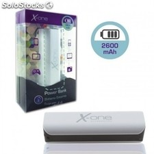 X-One PowerBank 2600mAh Negro