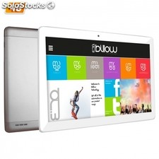 X104S 16GB 3G 4G plata, color blanco tablet