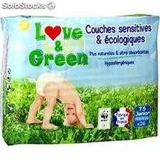 X26 couches ecolo T5 lovegreen